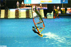 Indoor Windsurfing Championship, London Boat Show